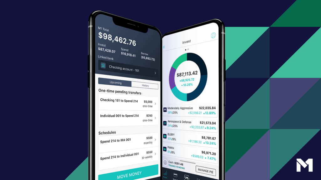 M1 Finance is one of the best investment apps around.