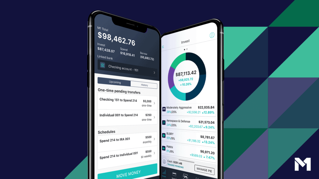M1 Finance is the best app to start investing.