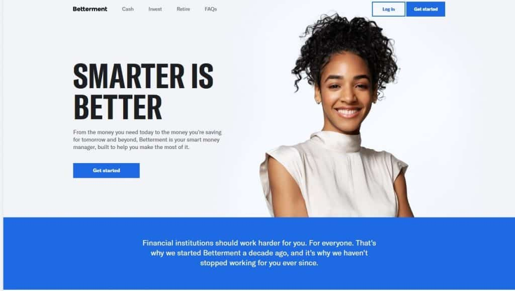 Betterment is a Top Online Stock Broker for beginners