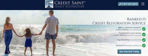 A Review of Credit Saint's credit repair services.