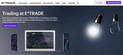 E*Trade Mobile Investing