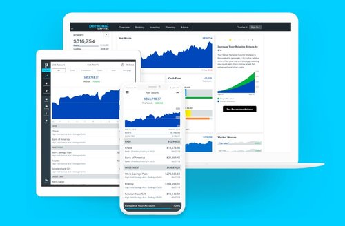 Personal Capital is a great Money Making App