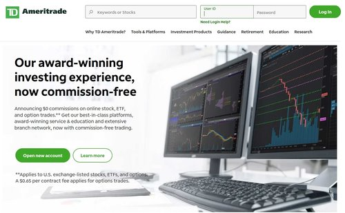 TD Ameritrade is one of the best apps to start investing.