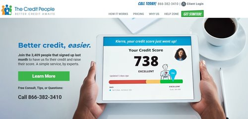 An in-depth review of The Credit People. Sign up today to repair your credit.