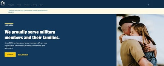 USAA is the best overall military bank.