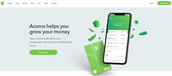 Acorns provides a better overall investing experience than Betterment.