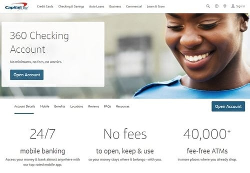 Capital One 360 Checking. Avoid Overdraft Fees.