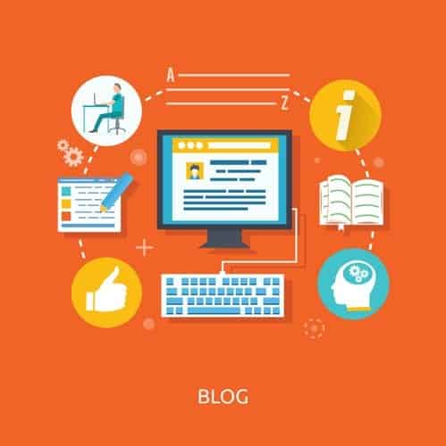 A blog is an online website that allows people to share ideas, recommend products, and help readers solve problems.