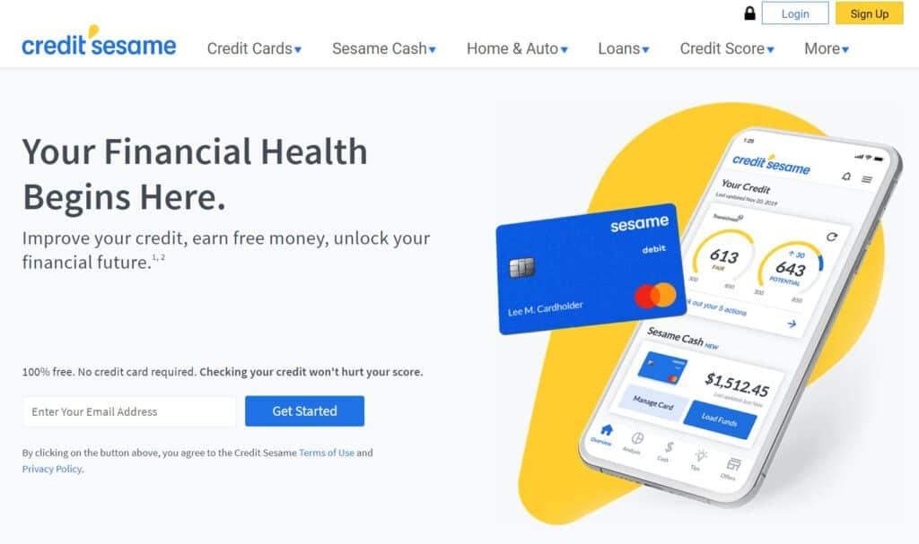 Credit Sesame Review: Free Credit Monitoring Service.